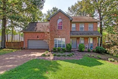 Mount Juliet Single Family Home For Sale: 107 Singing Springs Ct