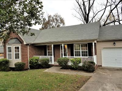 Mount Juliet TN Single Family Home For Sale: $259,900