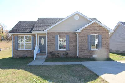 Springfield Single Family Home Under Contract - Not Showing: 772 Shelby Lynn Dr