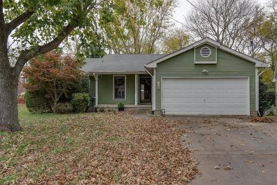 Hendersonville Single Family Home Under Contract - Showing: 119 Agee Circle