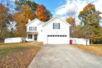 Clarksville TN Single Family Home For Sale: $173,500