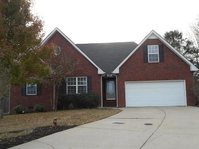 Murfreesboro TN Single Family Home Under Contract - Not Showing: $239,900