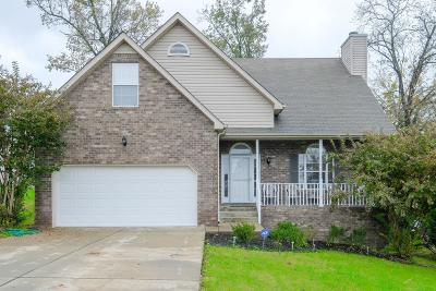 Lavergne Single Family Home Under Contract - Not Showing: 1212 Waveland Ct