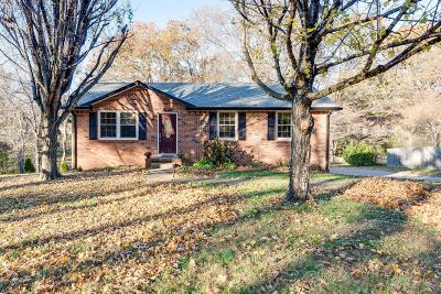 Williamson County Single Family Home Under Contract - Showing: 7621 Cumberland Dr