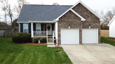 Clarksville TN Single Family Home For Sale: $177,900