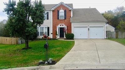 Mount Juliet Single Family Home For Sale: 2264 Monthemer Cove Dr