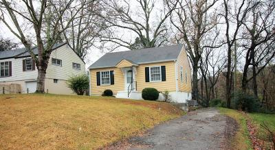 Clarksville Single Family Home Under Contract - Showing: 966 Oakdale Dr