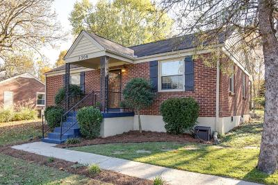 Nashville Single Family Home For Sale: 2308 Shadow Ln