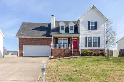 Spring Hill Single Family Home For Sale: 2714 Mollys Ct