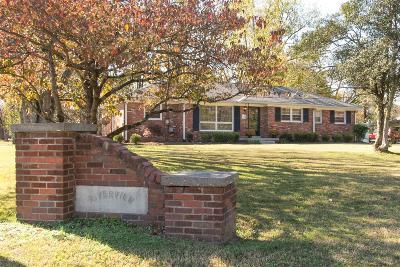 Smyrna Single Family Home For Sale: 1108 Sam Davis Rd