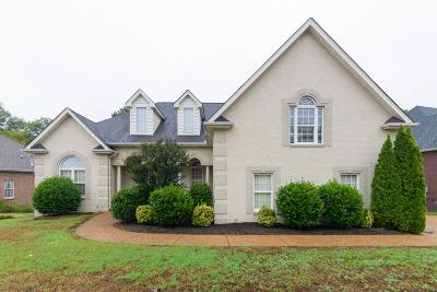 Mount Juliet Single Family Home For Sale: 2012 Raven Xing
