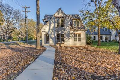Nashville  Single Family Home For Sale: 3400 Lealand Ln