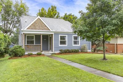 Nashville Single Family Home For Sale: 1608 Eastland Ave