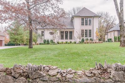 Nashville  Single Family Home For Sale: 4224 Wallace Lane
