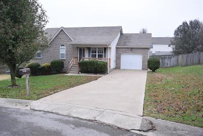 Mount Juliet Single Family Home For Sale: 605 Cahaba Court