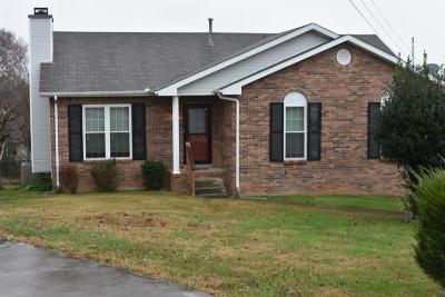 Clarksville Single Family Home For Sale: 2024 Windroe Dr