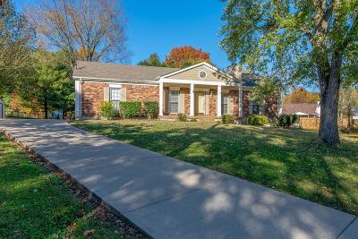 Mount Juliet Single Family Home For Sale: 1304 Rolling Meadow Ct