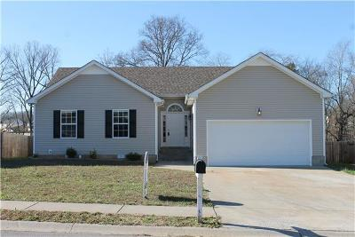 Clarksville TN Single Family Home For Sale: $164,900
