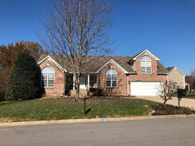Clarksville Single Family Home For Sale: 3369 Marrast Dr