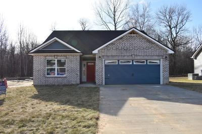 Clarksville TN Single Family Home Under Contract - Showing: $189,900