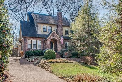 Single Family Home For Sale: 2805 Westwood Ave