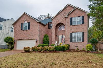 Mount Juliet Single Family Home For Sale: 1633 Eagle Trace Dr
