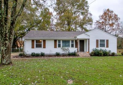 Goodlettsville Single Family Home Under Contract - Not Showing: 222 McCoin Dr