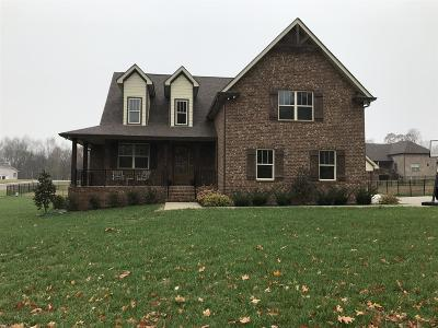 Robertson County Single Family Home Under Contract - Not Showing: 2028 Stratford Lane