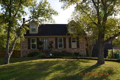 Old Hickory Single Family Home For Sale: 4904 Teton Drive