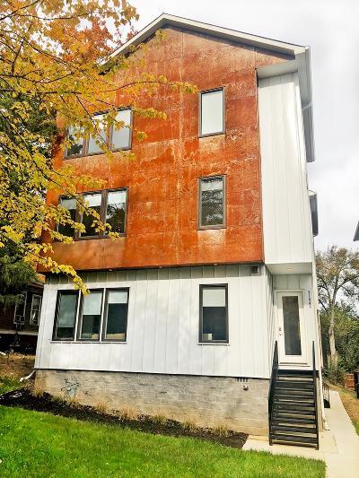 Nashville Single Family Home For Sale: 3104 A Wellington Ave