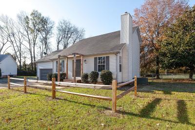 Columbia Single Family Home For Sale: 1912 Vicksburg Cir