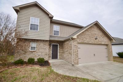 Clarksville TN Single Family Home For Sale: $155,000
