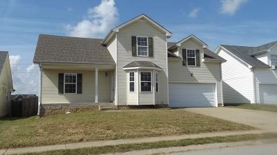 Christian County, Ky, Todd County, Ky, Montgomery County Single Family Home For Sale: 1044 Cindy Jo Ct