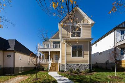 Nashville Single Family Home For Sale: 520 S 11th St
