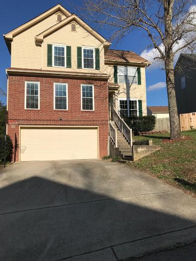 Nashville Single Family Home For Sale: 1610 Berrywood Way