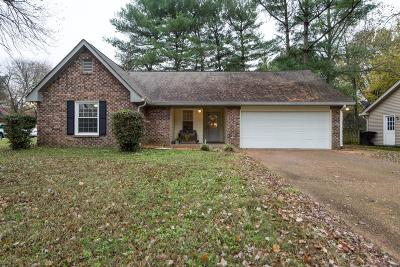 Franklin Single Family Home For Sale: 601 Shadycrest Lane
