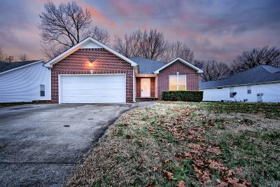 Clarksville Single Family Home For Sale: 1508 Tylertown Rd