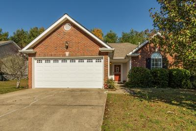 Sumner County Single Family Home Under Contract - Not Showing: 1380 Harrington Dr