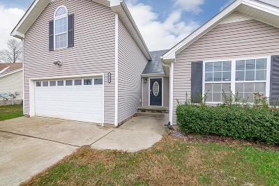 Clarksville TN Single Family Home For Sale: $196,000
