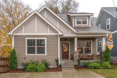 Nashville Single Family Home For Sale: 705 Rosebank Ave