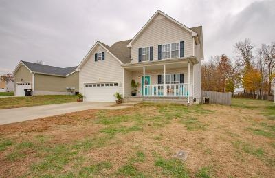 Clarksville Single Family Home Under Contract - Not Showing: 1421 Jenny Ln