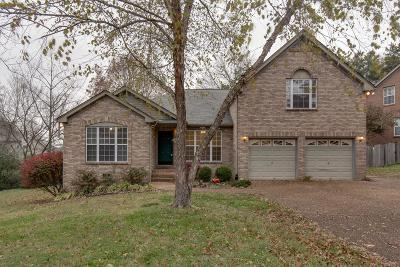 Old Hickory Single Family Home For Sale: 3406 McVie Ct