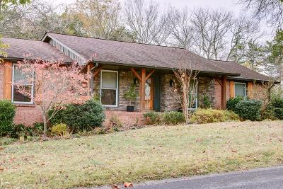 Hendersonville Single Family Home Under Contract - Not Showing: 129 Nathan Forest Dr