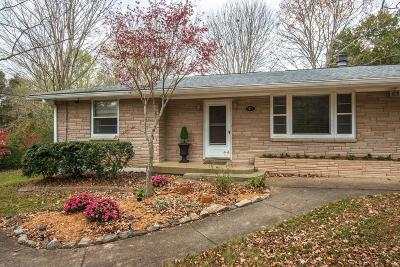 Pegram Single Family Home For Sale: 9076 Old Charlotte Pike