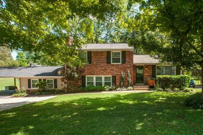Nashville Single Family Home For Sale: 5308 Anchorage Dr