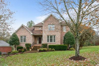 Brentwood Single Family Home For Sale: 1708 Stillwater Cir