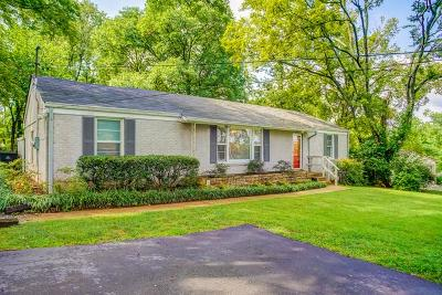 Nashville Single Family Home Under Contract - Not Showing: 427 Blackman Road