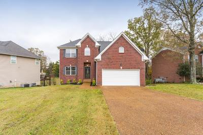 Lavergne TN Single Family Home Under Contract - Not Showing: $300,000