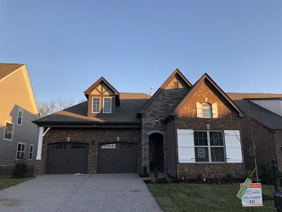 Gallatin Single Family Home For Sale: 158 Monarchos Drive - Lot 252