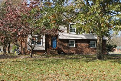 Sumner County Single Family Home For Sale: 1236 Timberwood Dr
